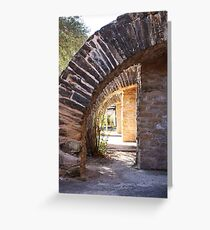 Arches Mission San Jose Greeting Card