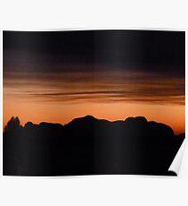 Kata Tuja - Olgas Sunset Poster
