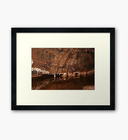 Königliche Höhle Gerahmter Kunstdruck