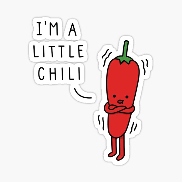Littel Chili Sticker