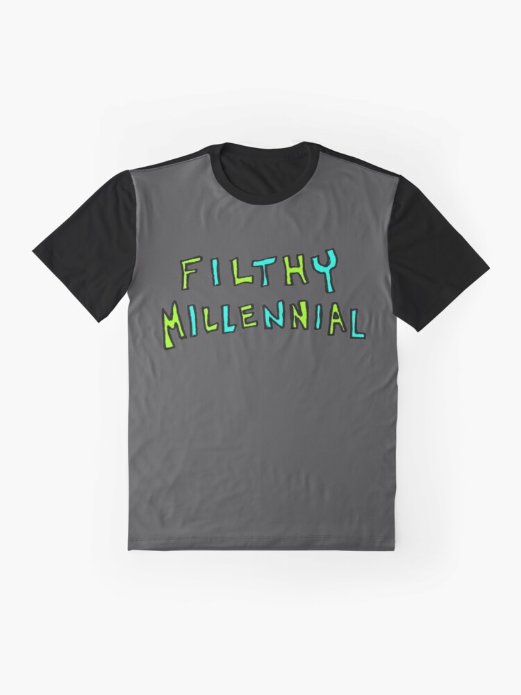 Alternate view of Filthy Millennial  Graphic T-Shirt