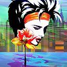 Metropolis Nostalgia Vaporwave Art  by BluedarkArt