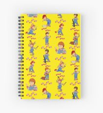 Good Guys - Child's Play - Chucky Spiral Notebook