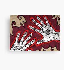 Graceful Hands Canvas Print