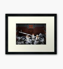 Death Star Trash Compactor Framed Print