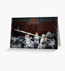 Death Star Trash Compactor Greeting Card