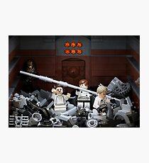 Death Star Trash Compactor Photographic Print