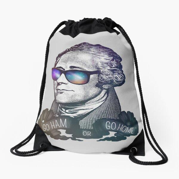 Hamilton: Go Ham or Go Home! Drawstring Bag