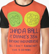 I Had a Ball Graphic T-Shirt
