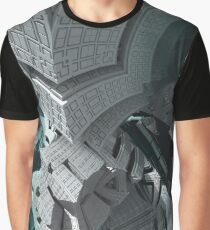 Fractaled  Graphic T-Shirt