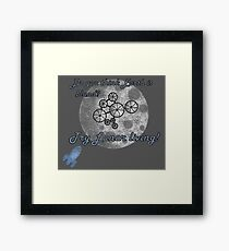 Do You Think Earth is Bland? Framed Print