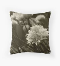 Chives. Throw Pillow