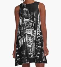 Downtown Providence A-Line Dress