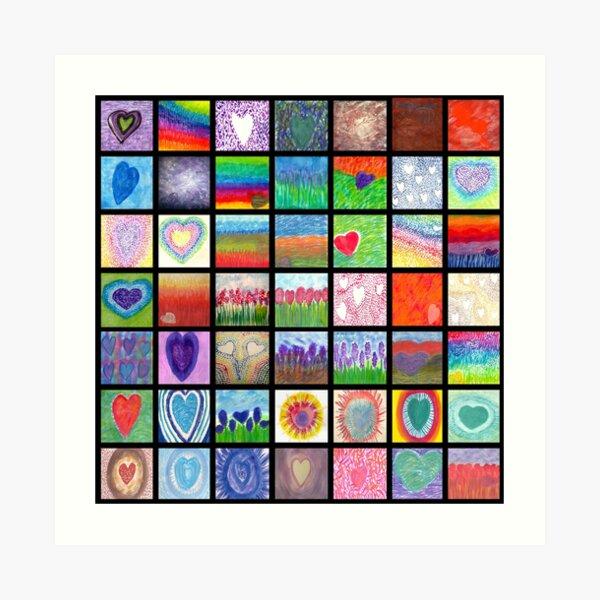 Heart Whisper Heaven 149 Art Print
