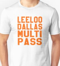 The Fifth Element - Leeloo Dallas Multi Pass T-Shirt