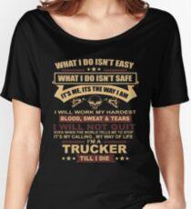 TRUCKER Women's Relaxed Fit T-Shirt