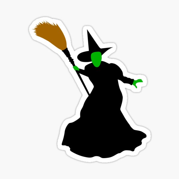 The Wizard of Oz Wicked Witch of the West Sticker