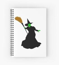The Wizard of Oz Wicked Witch of the West Spiral Notebook