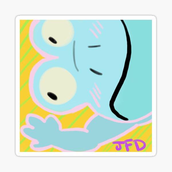 Jelly's Blue Frog 2017 Sticker