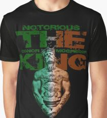 Notorious Conor McGregor The King Graphic T-Shirt