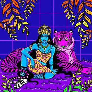 Jungle Queen by brownartgirl
