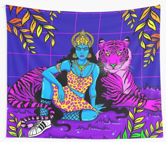 Jungle Queen by Sam Madhu