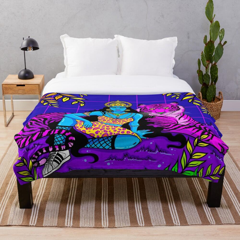 Jungle Queen Throw Blanket