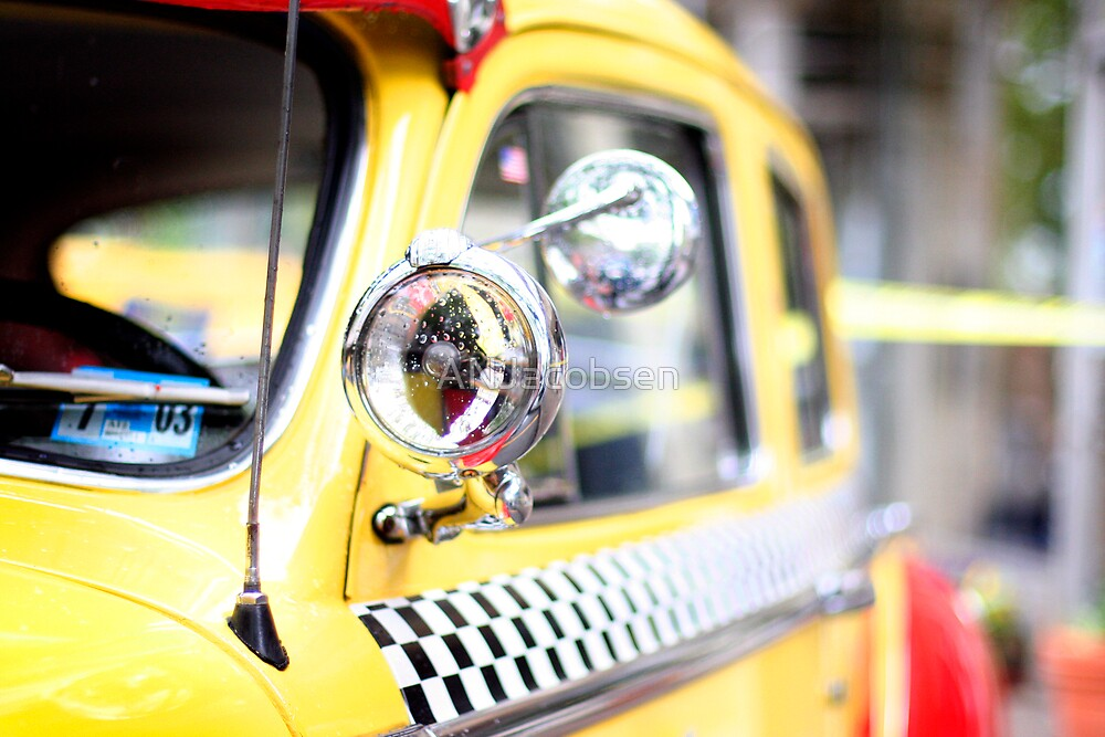 Vintage Taxi Cab by ANJacobsen