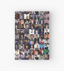 Grant Gustin Collage - Many Items Available  Hardcover Journal