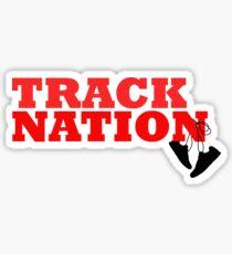 Track Nation Sticker