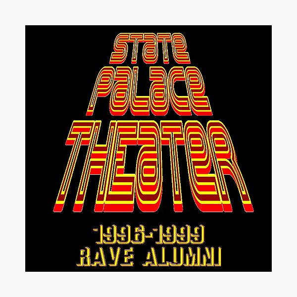 State palace theater rave alumni Photographic Print