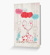 Nothing Can Keep Us Apart Greeting Card