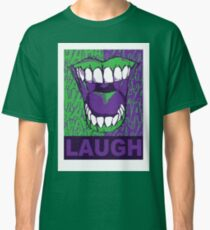 LAUGH purple Classic T-Shirt