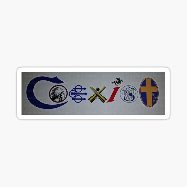 The Original COEXIST Gun Manufacturers Decal Bumper Sticker Sold by Original Designer & Seller 'Ants Korner' Sticker