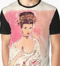 Victorian Beauty Graphic T-Shirt
