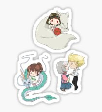 Ghibli Set 1 Sticker