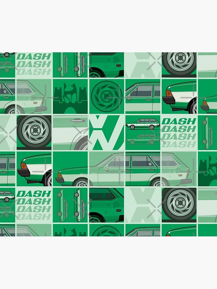 Kylee's Green VDub Dasher Wagon  by monkeycom