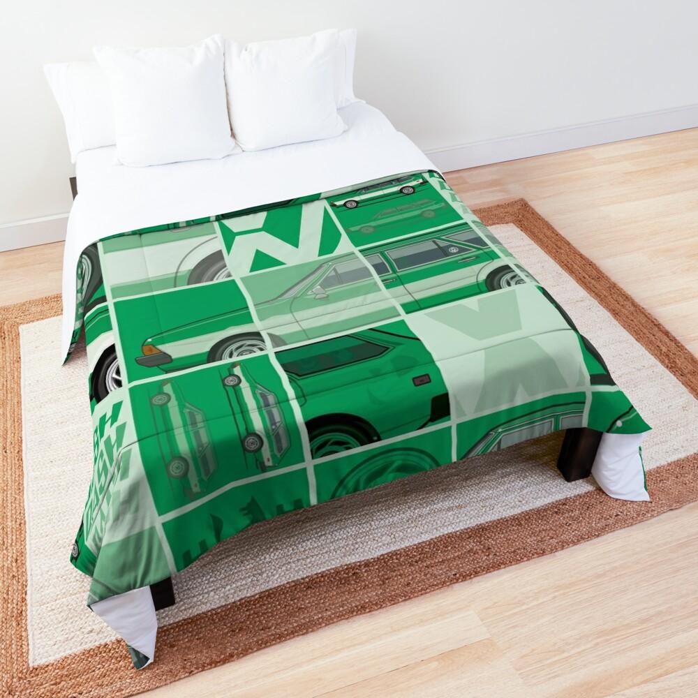 Kylee's Green VDub Dasher Wagon  Comforter