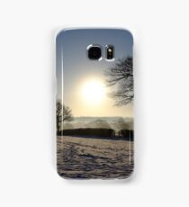 Snow Scene Samsung Galaxy Case/Skin