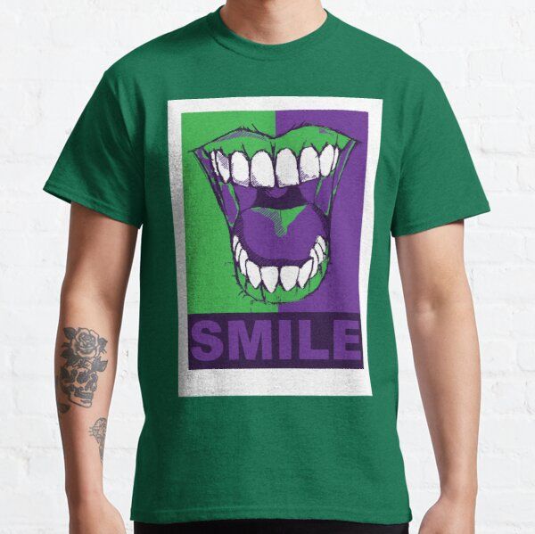 SMILE purple Classic T-Shirt