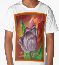 Thinking Of You - Two Tulips Long T-Shirt