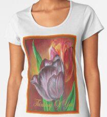 Thinking Of You - Two Tulips Women's Premium T-Shirt