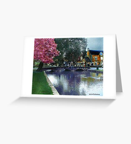 Bourton on the Water 2 Greeting Card