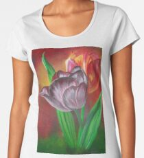Two Tulips Women's Premium T-Shirt