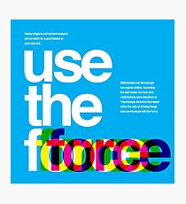 Star Wars: Use the Force Photographic Print