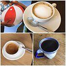 Summertime coffee by Barbara Wyeth