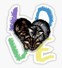 All You Need is Love. And Kitties. Sticker