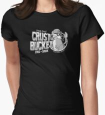 Chum bucket eatery (one color) Womens Fitted T-Shirt