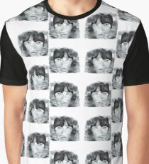 Jagger Black and White Graphic T-Shirt