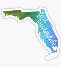Fort Lauderdale Sticker